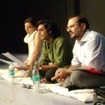 Oscar Pujol, Sameer Rawal and Rosa at JKK, Jaipur