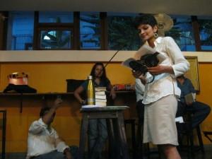 monica reading